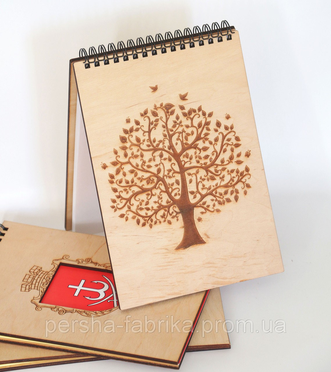 """Блокнот з дерев′янною обкладинкою """"Дерево"""""""