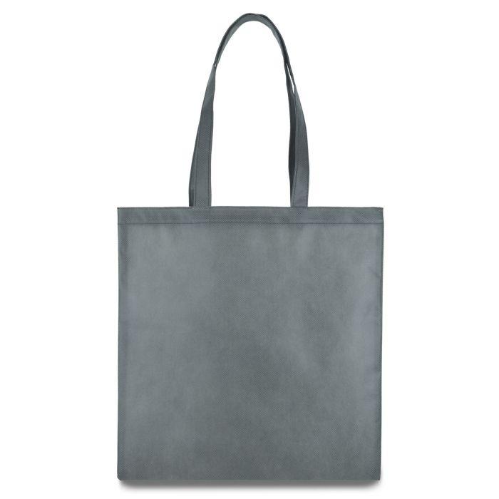Еко-сумка з бавовни  сіра (35х40см) 240г/кв.м