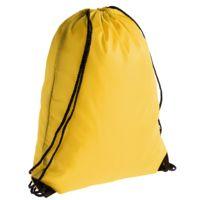 Еко-рюкзак жовтий з наметової тканини (35х45 см) PROMO
