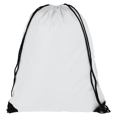 Еко-рюкзак білий з наметової тканини (35х45 см) PROMO