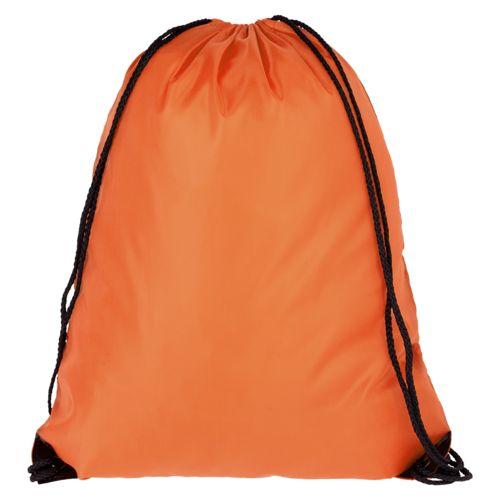 Еко-рюкзак помаранчевий з наметової тканини (35х45 см) PROMO
