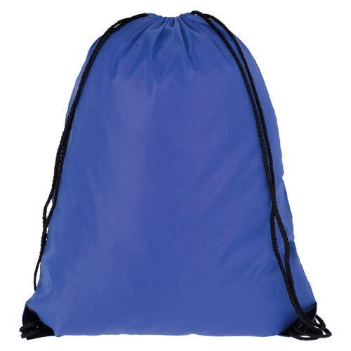 Еко-рюкзак ярко синій з наметової тканини (35х45 см) PROMO