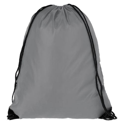 Еко-рюкзак сірий з наметової тканини (35х45 см) PROMO